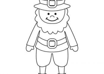 Saint Patrick's Day Free Printable Coloring Pages