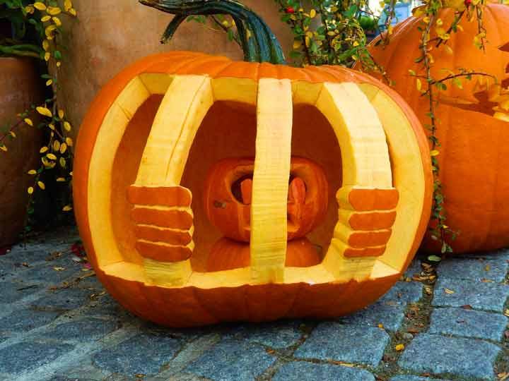 pumpkin in jail