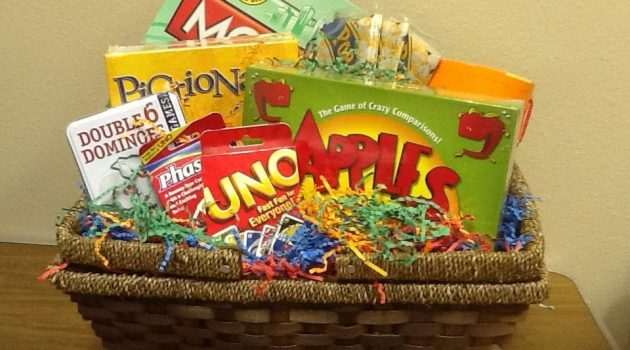 game gift basket
